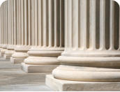 Picture of Government building columns
